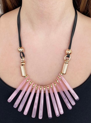 Pink - Necklace
