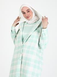 Mint - Checkered - Tunic