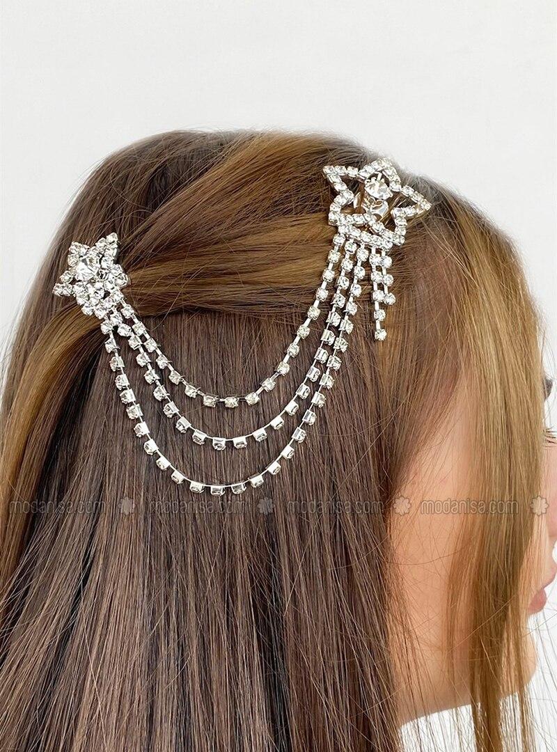 Silver tone - Hair Bands