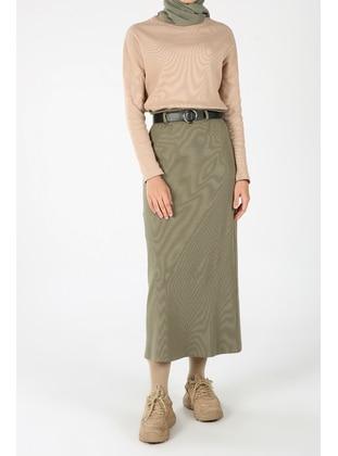 Khaki - Skirt - ALLDAY