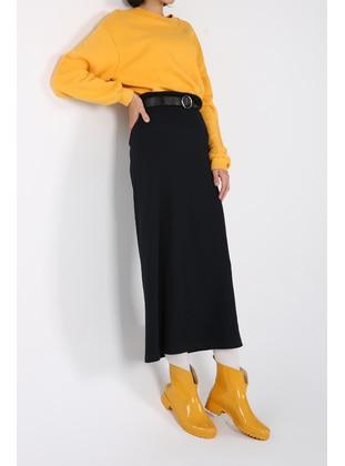 Navy Blue - Skirt - ALLDAY