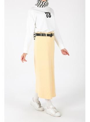 Yellow - Skirt - ALLDAY