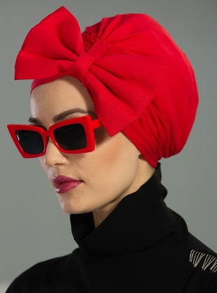 Red - Instant Scarf