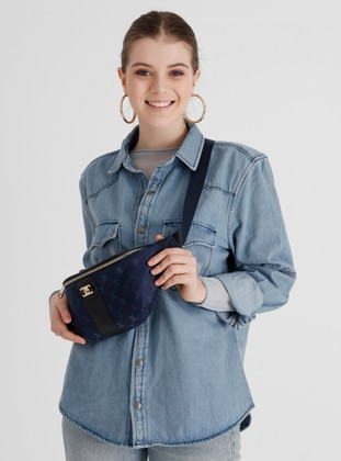 Navy Blue - Crossbody - Bum Bag