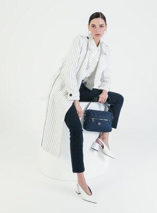 Crossbody - Satchel - Navy Blue - Cross Bag