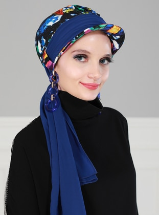 Saxe - Printed - Instant Scarf