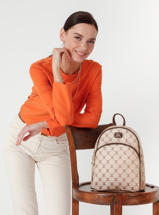 Camel - Brown - Crossbody - Satchel - Backpacks