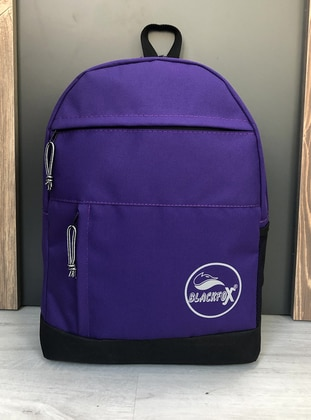 Purple - Backpack - Backpacks