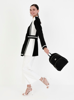 Black - Crossbody - Satchel - Backpacks