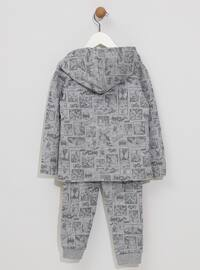 Multi - Unlined - Gray - Boys` Suit