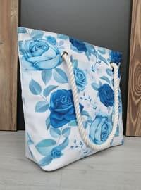 Satchel - Blue - Beach Bags