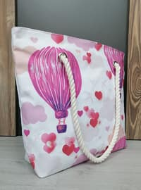 Satchel - Pink - Beach Bags