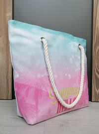 Satchel - Pink - Beach Bags