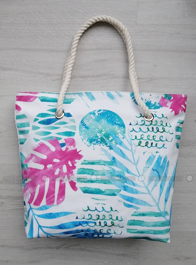 Satchel - Green - Beach Bags