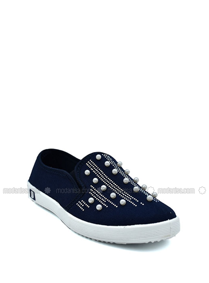 Casual - Navy Blue - Casual Shoes