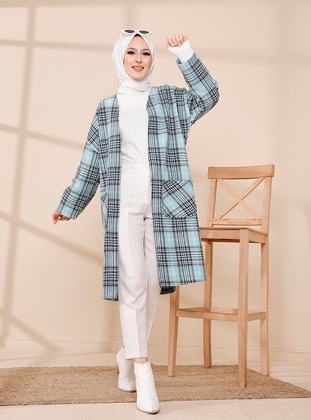 Mint - Plaid - Unlined - Jacket