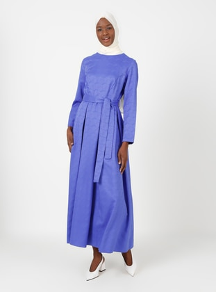 Crew neck - Unlined - Modest Dress
