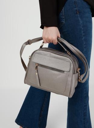 Silver tone - Crossbody - Satchel - Shoulder Bags