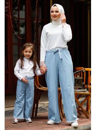 Multi - Girls` Pants - MISSVALLE