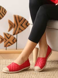 Casual - Red - Casual Shoes