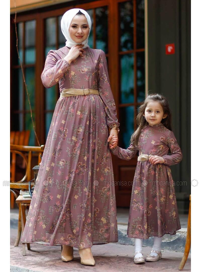 Unlined - Lilac - Girls` Dress