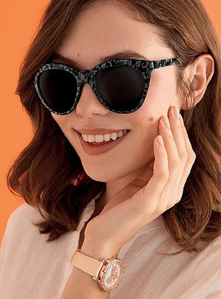 Black - Sunglasses - Avon