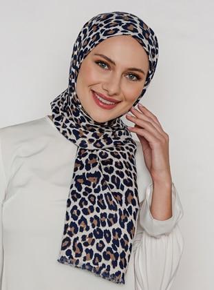 Leopard - Printed - Shawl