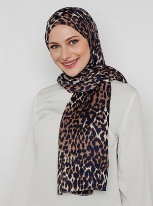 Leopard - Printed - Leopard - Shawl