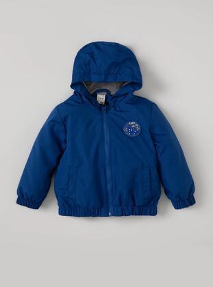 Blue - Baby Jacket - DeFacto
