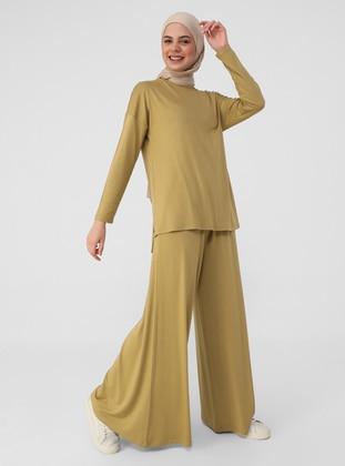 Gold - Unlined - Suit