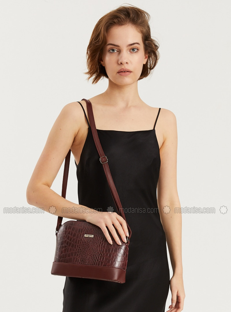 Purple - Plum - Crossbody - Satchel - Shoulder Bags