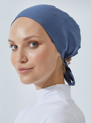 Indigo - Lace up - Bonnet