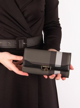 Black - Wallet - Silver Polo