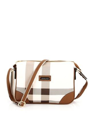 Crossbody - Cream - Tan - Cross Bag