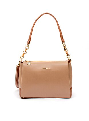Crossbody - Tan - Mink - Cross Bag