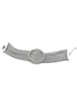 Silver tone - Multi - Bracelet