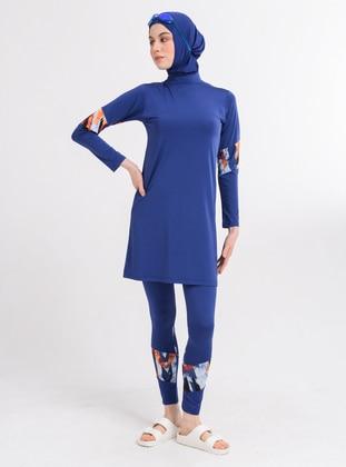 Indigo - Unlined - Fully Covered Swimsuits - Alfasa
