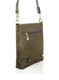 Crossbody - Satchel - Khaki - Cross Bag