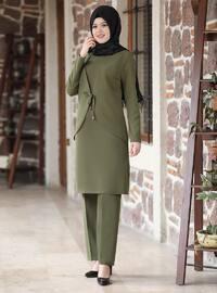 Khaki - Khaki - Unlined - Evening Suit