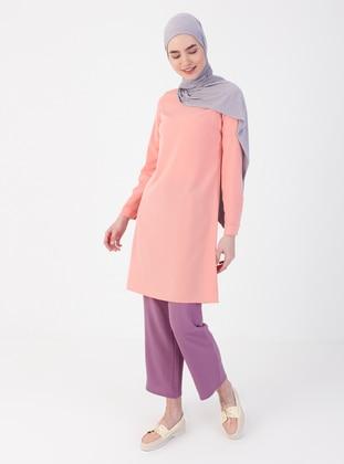 Dusty Rose - Purple - Pink - Pants