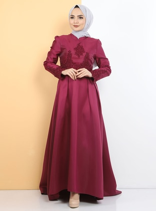 Fully Lined - Multi - Modest Evening Dress