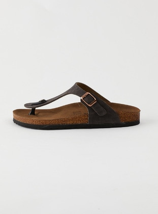 Brown - Slippers