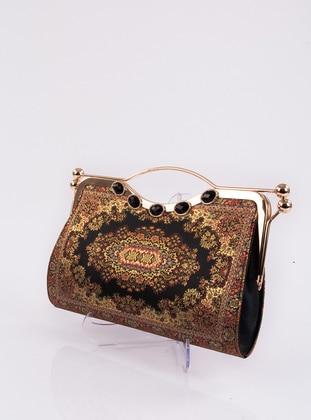 Black - Satchel - Clutch - Clutch Bags / Handbags - MOTTİF İSTANBUL