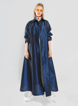 Saxe - Unlined - Point Collar - Trench Coat