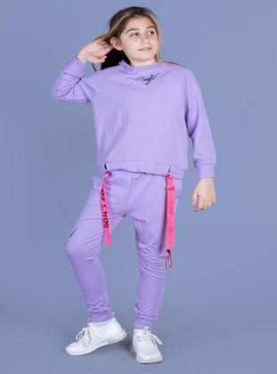 Lilac - Girls` Suit