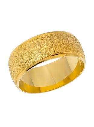 Gold - Ring - Fsg Takı