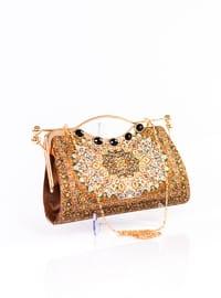 Tan - Satchel - Clutch - Clutch Bags / Handbags