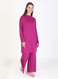 Fuchsia - Unlined - Suit