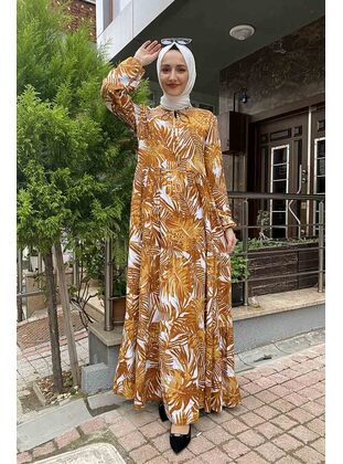 Mustard - Modest Dress