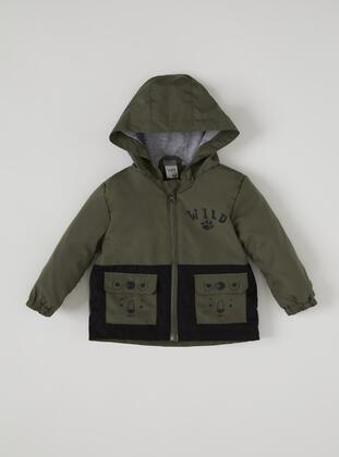 Khaki - Baby Jacket - DeFacto